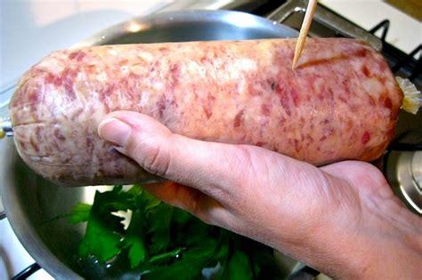 cotechino fresco come si cucina cotechino e lenticchie ricetta perfetta dissapore