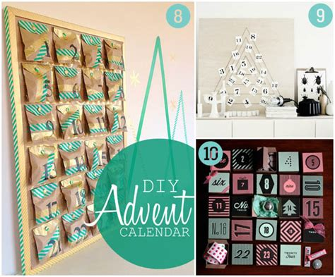 Handmade Advent Calendar Ideas - 10 diy advent calendar ideas