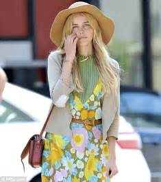 70s hairstyle pictures reporter look it s flower power for boho babe isabel lucas as she steps