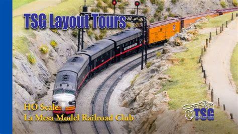 model railroader video layout tour la mesa model railroad club ho layout tour tehachapi