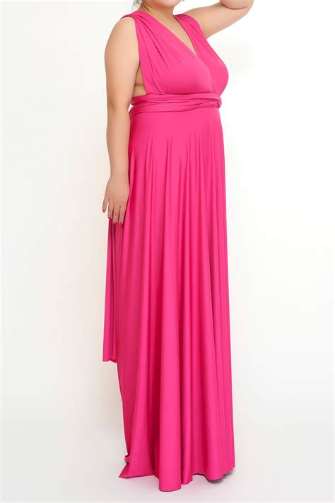 infinity size magenta plus size convertible infinity dresses to 5xl