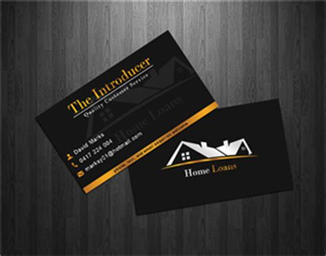 17 Home Loan Business Cards 67 Modern Upmarket Loan Business Card Designs For A Loan