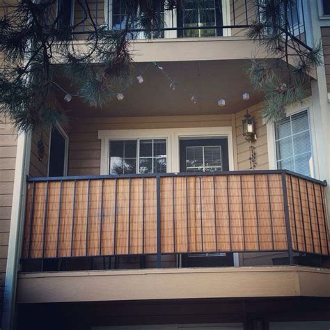 apartment balcony privacy screen apartment decorating ideas