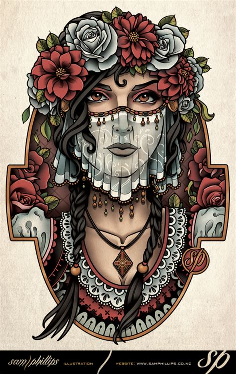 beautiful gypsy bride by sam phillips nz on deviantart