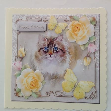 Mini Ransel Cat Anf Butterfly Lucu cat with yellow roses and butterflies cup721430 2328 craftsuprint