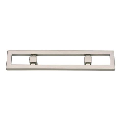 3 inch brushed nickel cabinet pulls atlas homewares nobu 3 inch center to center brushed