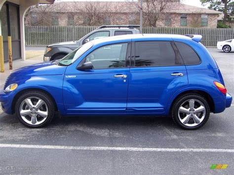 Interior Paint Color Schemes by 2003 Electric Blue Pearl Chrysler Pt Cruiser Gt 25581081
