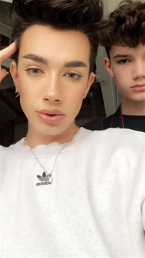 james charles brother and sisters james charles and quot brother quot ian beauty gurus pinterest
