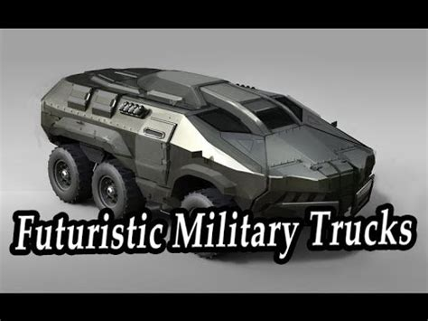 futuristic military jeep most futuristic military trucks strangest concepts