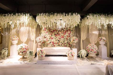 beautiful decorated theme wedding altar stock photo image 59833418