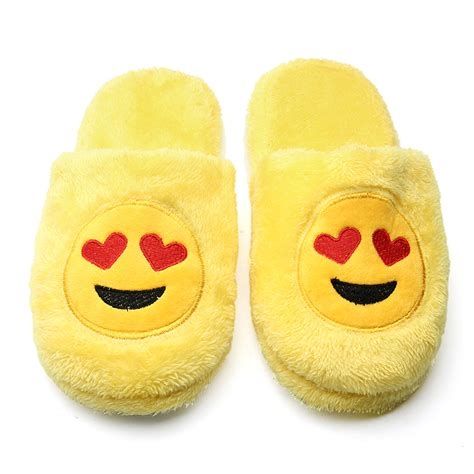 sleepwear slippers emoji expression slippers home indoor shoes
