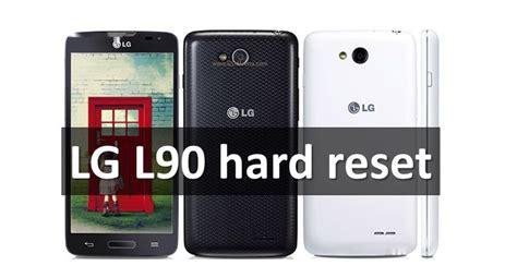 how to hard reset lg e615 pattern unlock techrival lg l90 hard reset restore factory settings