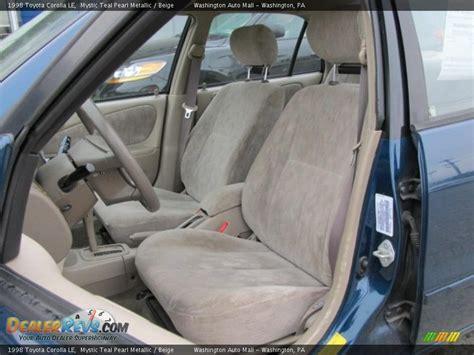 1998 Toyota Corolla Interior by Beige Interior 1998 Toyota Corolla Le Photo 12