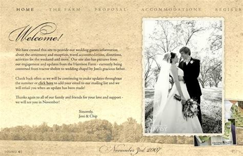 Wedding Website Examples: Creating Memories for Keeps