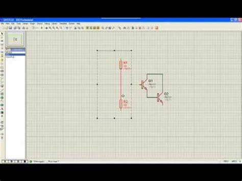 transistor bjt proteus lificador de se 241 al con bjt en divisor de voltaje doovi