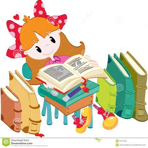 libro la nia de los ni 241 a con los libros foto de archivo imagen 31317250