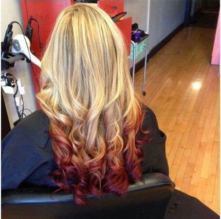 blonde  burgundy ideas  pinterest burgundy
