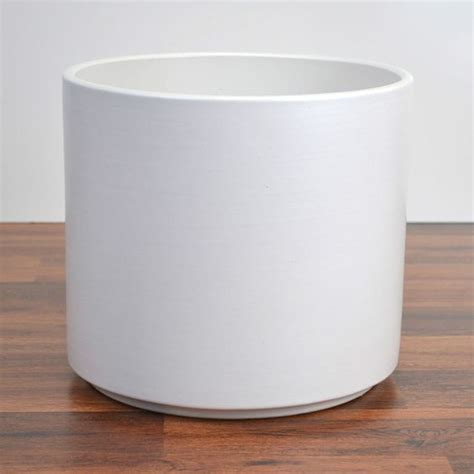 Cylindrical Planter by Ceramics Planters And Pottery On