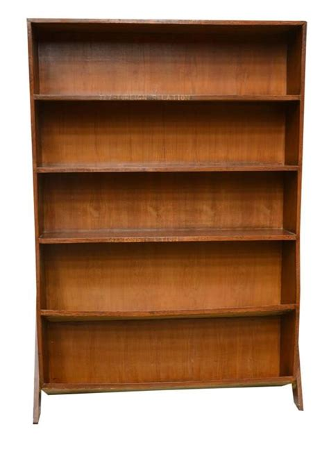 pierre jeanneret double sided bookcase for sale at 1stdibs