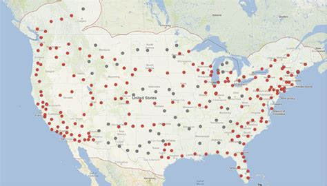 Tesla Supercharger Station Locations Tesla Supercharger Network Goes Nationwide Gets Quicker