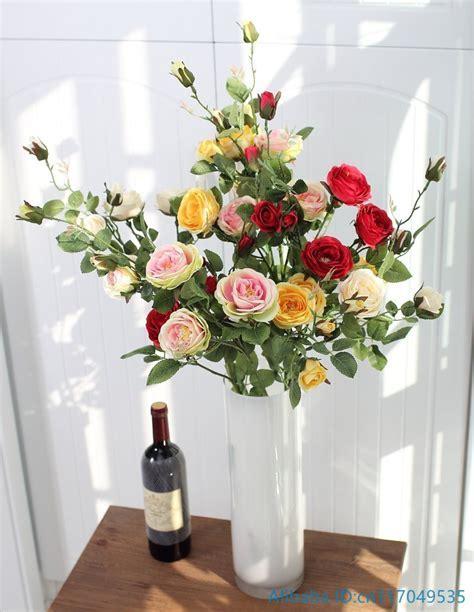 1 PCS Beautiful Fake Artificial Flower Long Stem Silk Rose