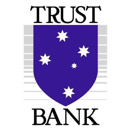 trust bank vektor logo kostenlose vector kostenloser