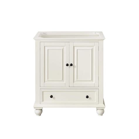 shop avanity thompson freestanding white 30 in x 21