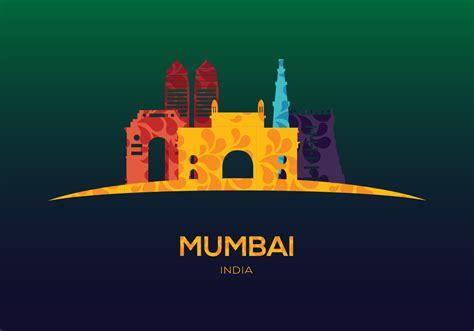 mumbai vector   vector art stock graphics