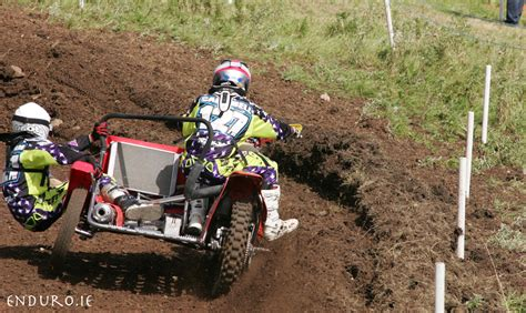 sidecar motocross racing relentless crockard takes carrickfergus top honours
