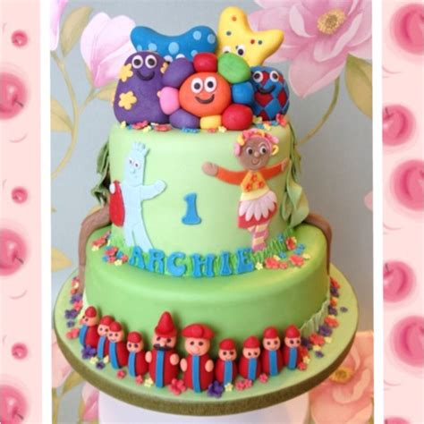 17 Best Images About In The Night Garden On Pinterest In The Garden Cake Ideas