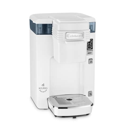 Shop Cuisinart White Single Serve Coffee Maker at Lowes.com