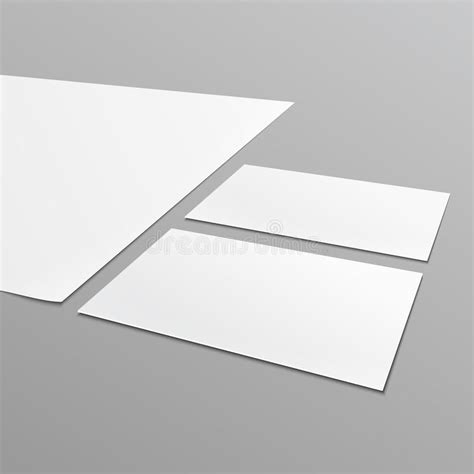 a4 business card template blank stationery layout a4 paper business card stock