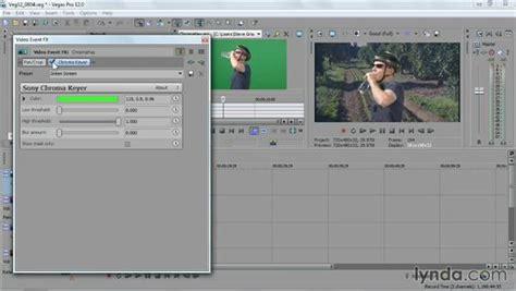 sony vegas pro tutorial using the chroma keyer effect using the chroma keyer effect