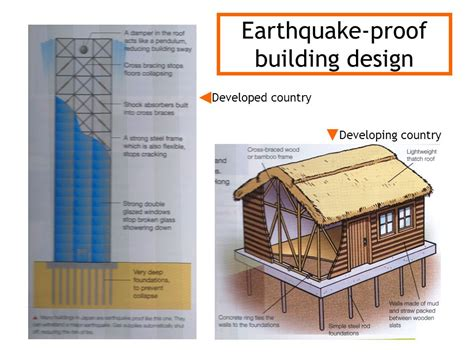 earthquake safe house designs restless earth revision revise the topic practice exam technique ppt video online download