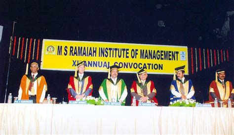 Ms Ramaiah Institute Of Management Mba Fees by M S Ramaiah Institute Of Management Msrim Bangalore