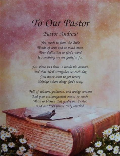 inspirational poems  pastor anniversary yahoo search results  life christian
