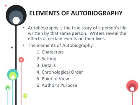 is biography and autobiography same interpreting the play