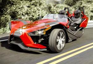 new three wheeled car all new polaris slingshot 3 wheel car launches for 20 000