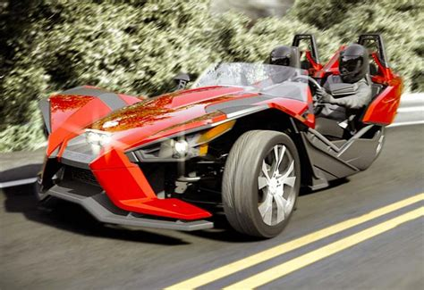 Vehicle With Three Wheels by All New Polaris Slingshot 3 Wheel Car Launches For 20 000