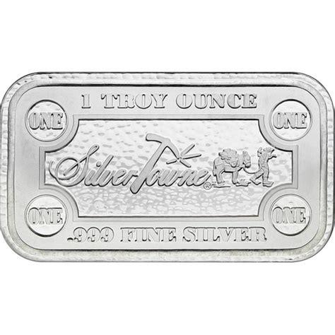 1 Oz 999 Silver Bar Silvertowne - silvertowne money bars 1 oz silver bar silvertowne