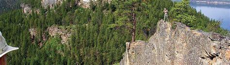 Landscape Rock Vernon Bc Rock Climbing Tourism Vernon