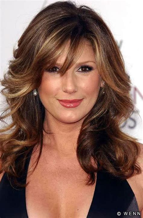 40 hairstyles no bangs medium hairstyles with bangs for women over 40 2017 medium