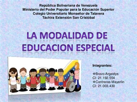 imagenes educacion especial modalidad educaci 243 n especial