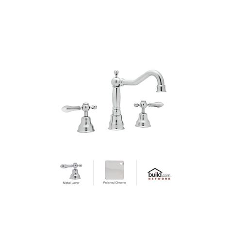 Cisal Faucet by Rohl Ac107l Apc 2 Polished Chrome Cisal Widespread