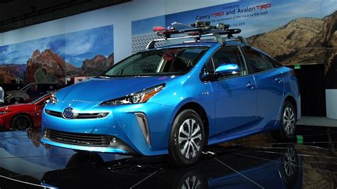 2019 Toyota Prius In Hybrid by 2019 Toyota Prius Gets Awd Softer Look Consumer Reports