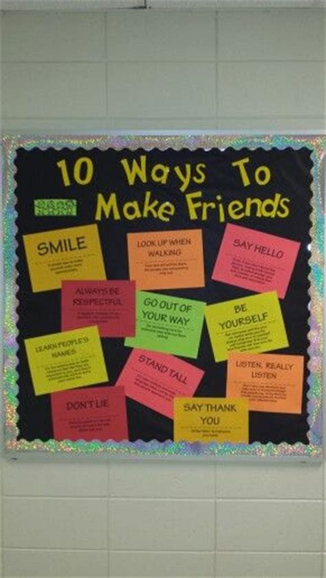 10 Ways To Get Your Friend Fall In With You by Best 25 Guidance Bulletin Boards Ideas On