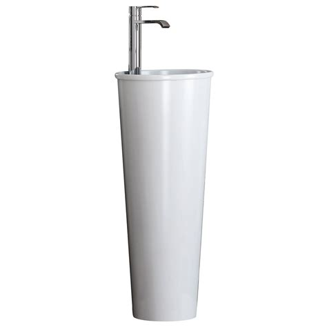 lavabos de pedestal lavabo pedestal serie roma ref 16875481 leroy merlin