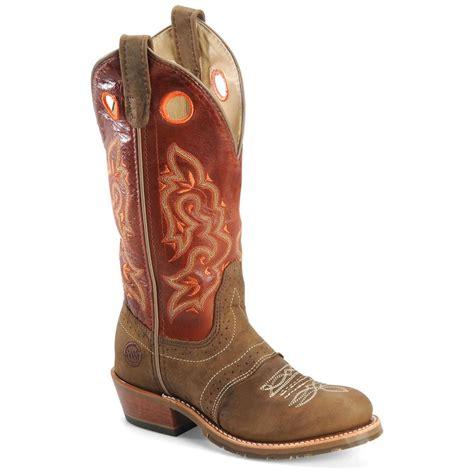 s h boots s h 174 12 quot domestic toe ice buckaroo