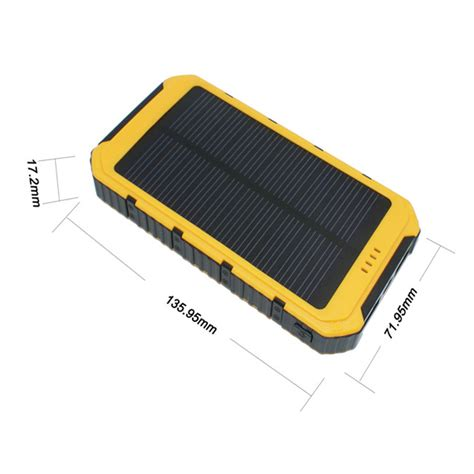 Power Bank Solar Charger 88000mah smart power bank solar charger 8000mah for iphone samsung