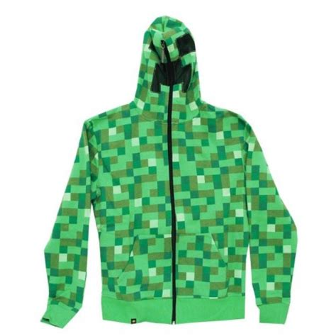 Hoodie Zipper Sweater Lego Premium6 geekshive minecraft creeper premium zip up hoodie green large hoodies novelty novelty